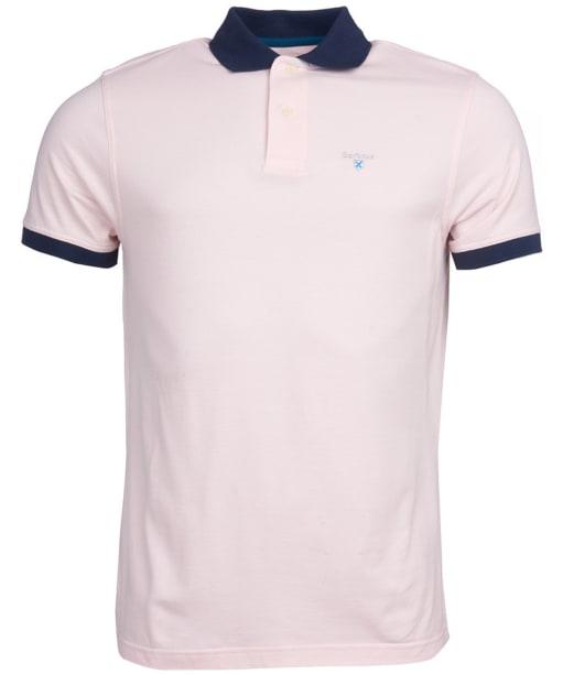 Men's Barbour Lynton Polo - Chalk Pink