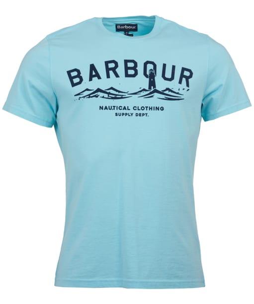 Men's Barbour Bressay Tee - Aquamarine