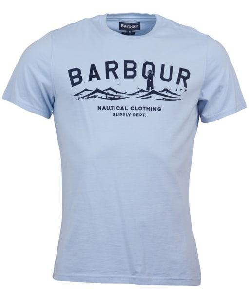 Men's Barbour Bressay Tee - Heritage Blue