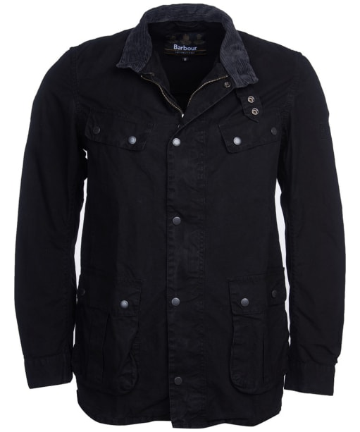 Men's Barbour International Summer Wash Duke Casual Jacket - Black