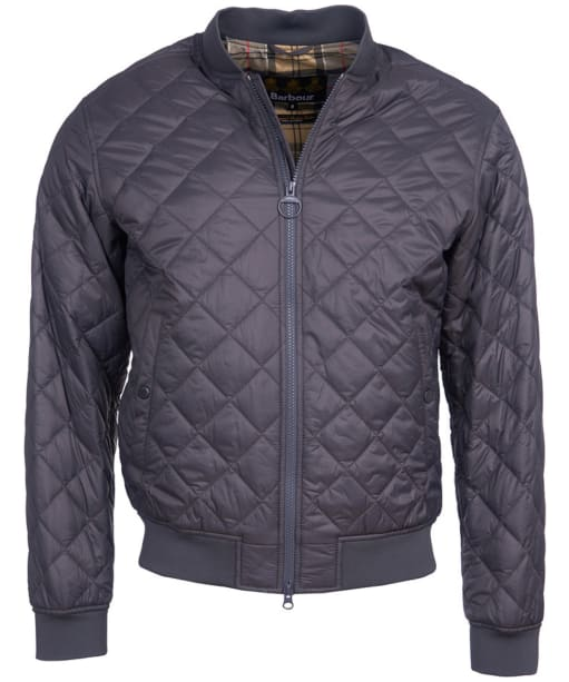 Men's Barbour Gabble Quilted Jacket - Charcoal