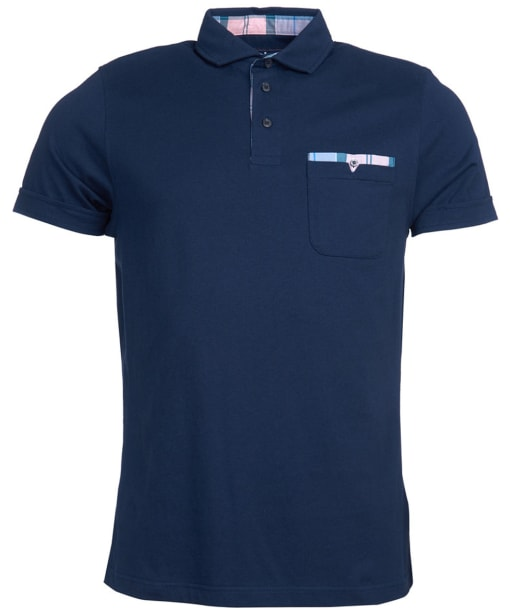 Men's Barbour Corpatch Polo Shirt - Navy