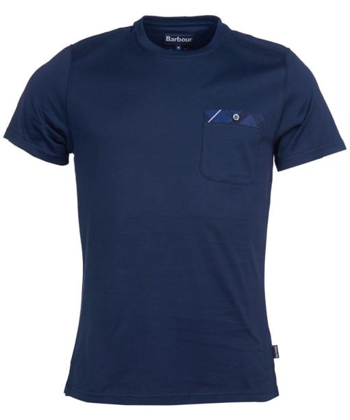 Men's Barbour Durness Pocket Tee - Navy