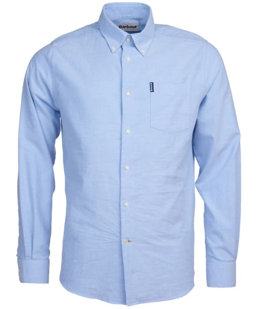 Men's Barbour Oxford 8 Tailored Shirt - Blue