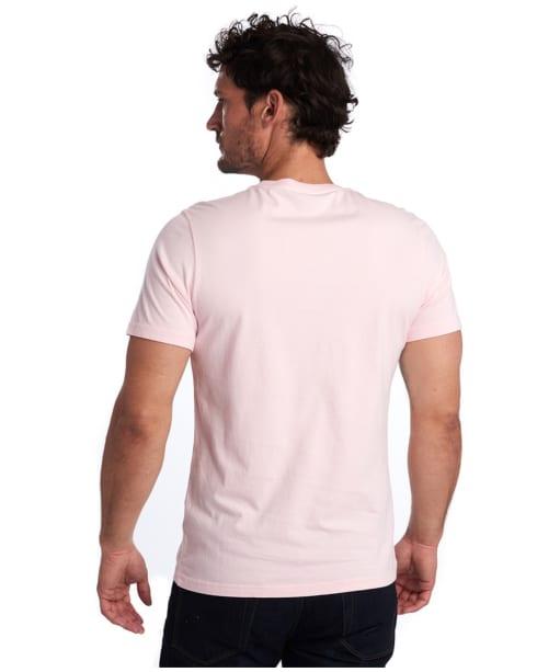 Men's Barbour Chanonry Tee - Chalk Pink