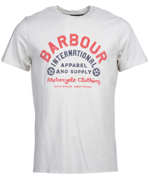Men's Barbour International Device Tee - Cloud White