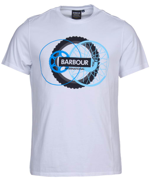 Men's Barbour International Reaction Tee - White