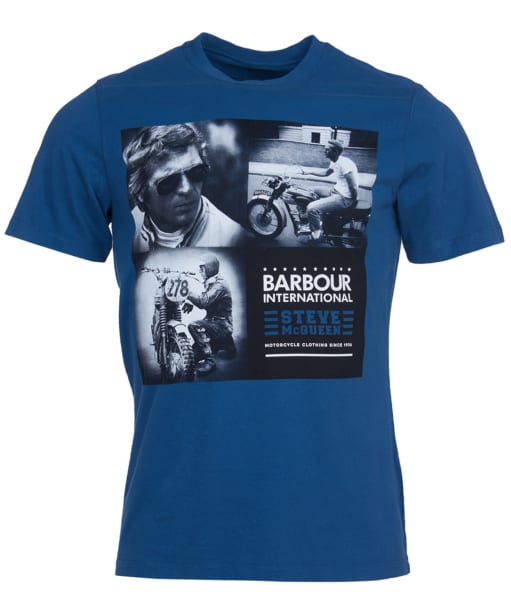 Men's Barbour International Steve McQueen Triple Tee - Washed Ink