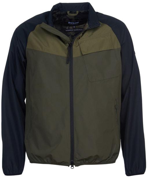 Men's Barbour International Row Waterproof Jacket - Olive