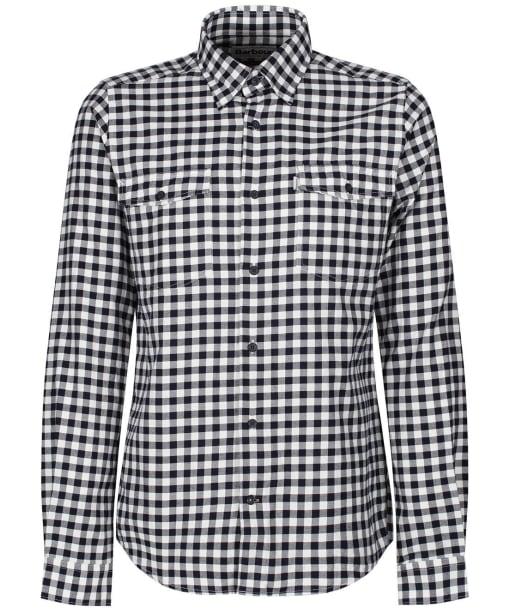 Men's Barbour Hillswick Shirt - Navy