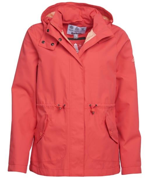 Women's Barbour Promenade Waterproof Jacket - Coral