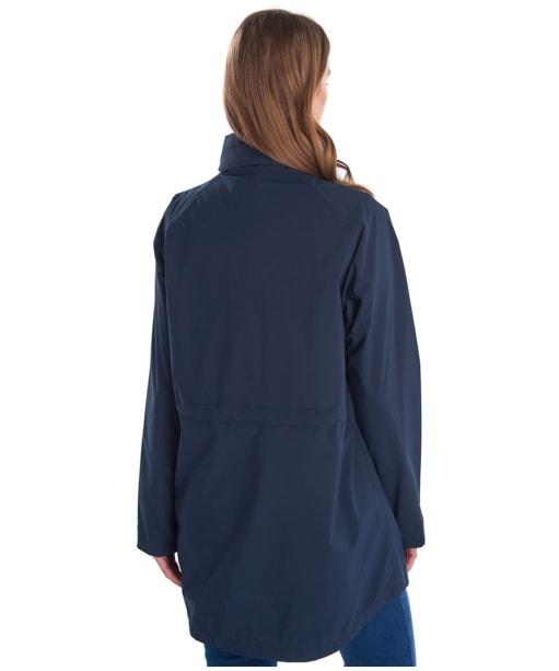 Women's Barbour Seaview Waterproof Jacket - Navy
