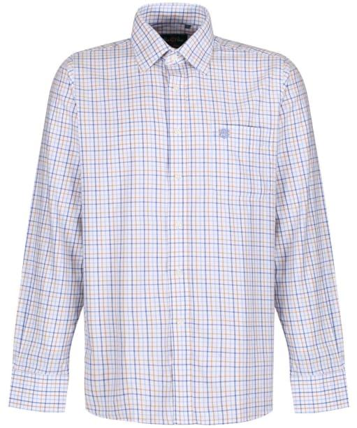 Men's Alan Paine Aylesbury Shirt - Blue / Beige