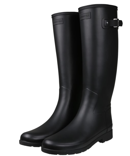 Women's Hunter Original Refined Wellington Boots - Black