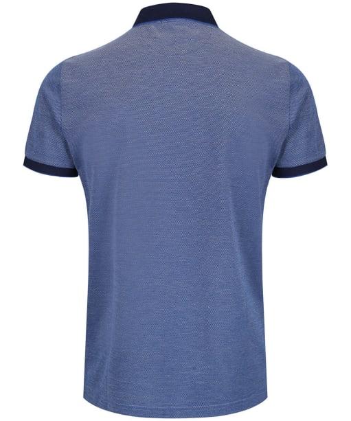 Men's GANT 4-Colour Polo Shirt - Persian Blue