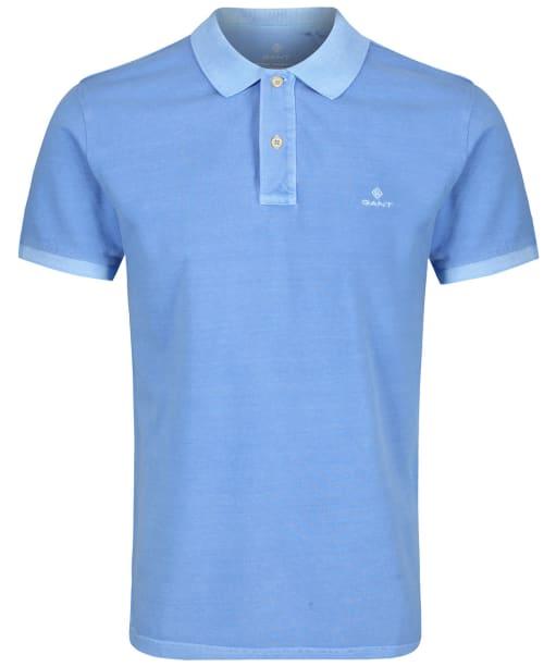 Men's GANT Sunbleached Polo Shirt - Pacific Blue