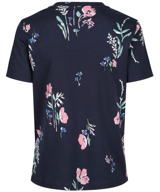 Women's GANT Meadow Print T-shirt - Evening Blue
