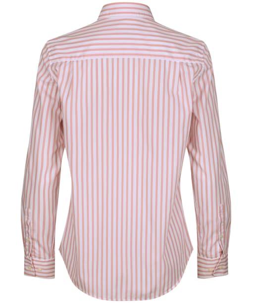 Women's GANT The Broadcloth Striped Shirt - Summer Rose