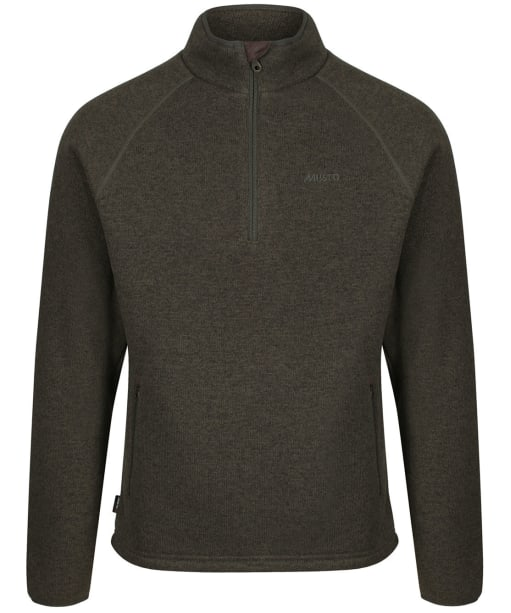 Men's Musto Super Warm Polartec® Windjammer ½ Zip Fleece - Forest Green