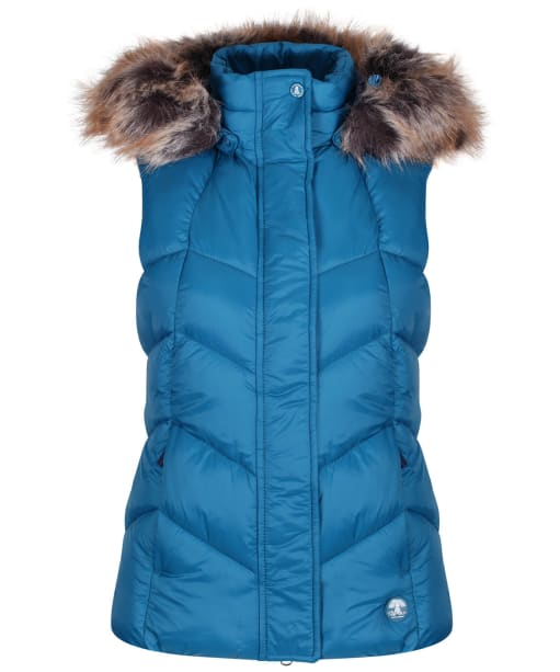 Women's Barbour Downhall Gilet - Tide Blue