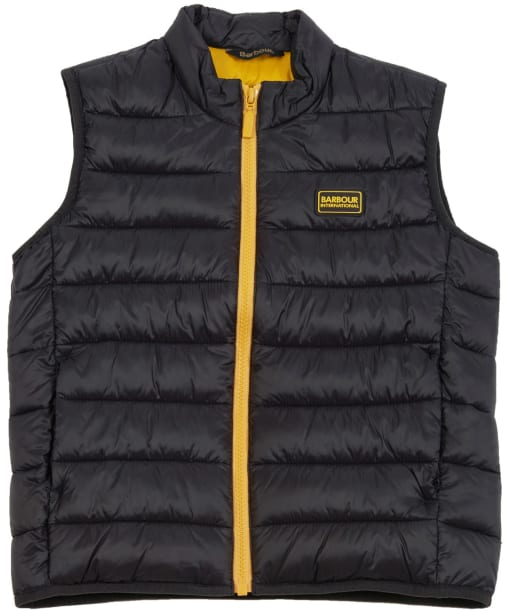 Boys Reed Gilet - Black