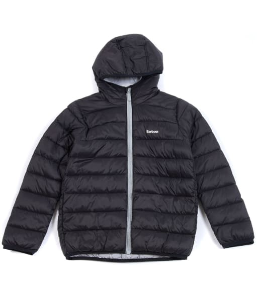 Boy's Barbour Trawl Quilted Jacket, 2-9yrs - Black