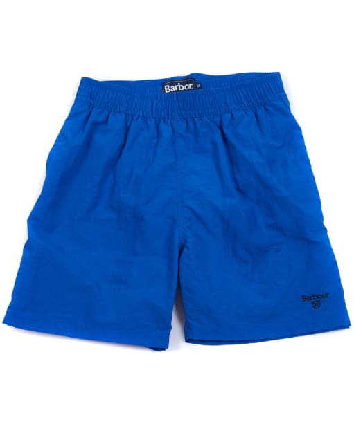 Boy's Barbour Essential Swim Shorts, 2-9yrs - Atlantic Blue