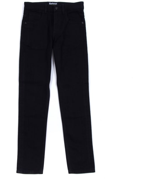 Boy's Barbour International Essential Jeans, 6-9yrs - Black