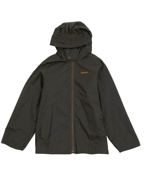 Boy's Barbour Orta Waxed Jacket, 10-15yrs - Archive Olive