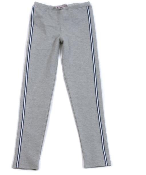 Girl's Barbour International Track Pants, 10-15yrs - Grey