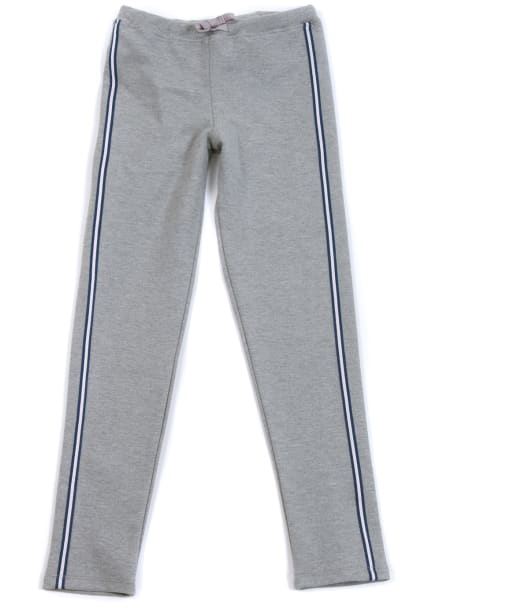 Girl's Barbour International Track Pants, 2-9yrs - Grey