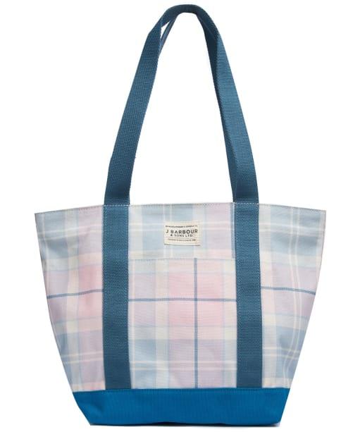 Women's Barbour Kirkaldy Tote Bag - BLOSSOM TARTAN