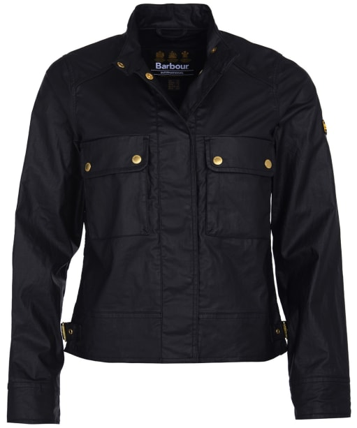 Women's Barbour International Trackrace Casual Jacket - Black