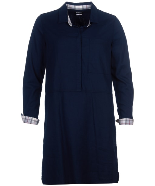 Women's Barbour Glenlea Dress - Navy