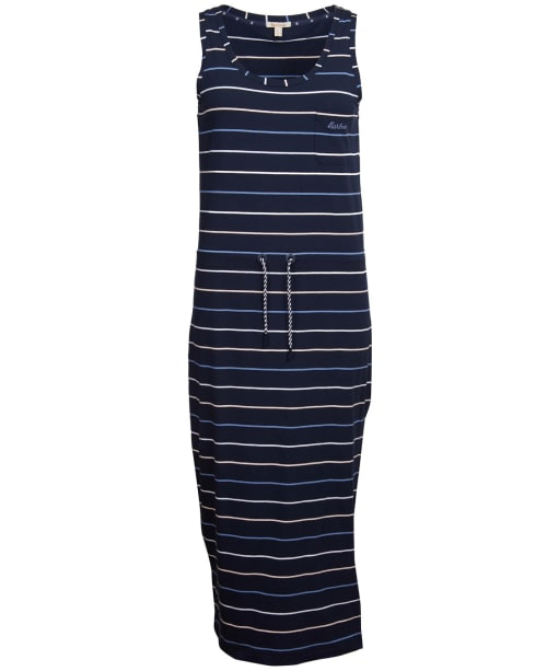 Women's Barbour Overland Dress - Navy Stripe