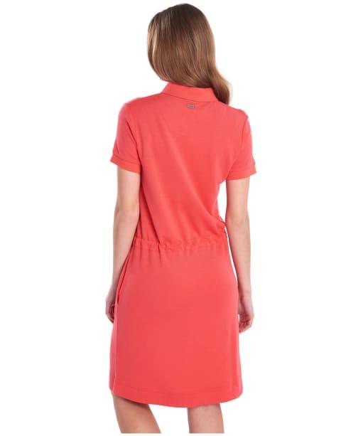 Women's Barbour Portsdown Dress - Coral