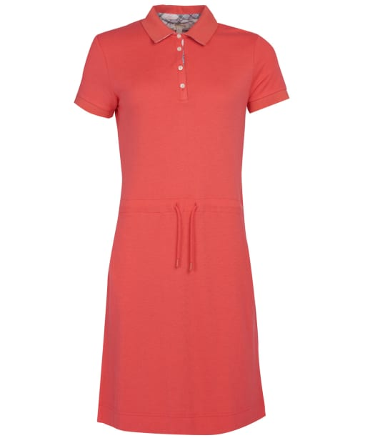 Women's Barbour Portsdown Dress - Coral