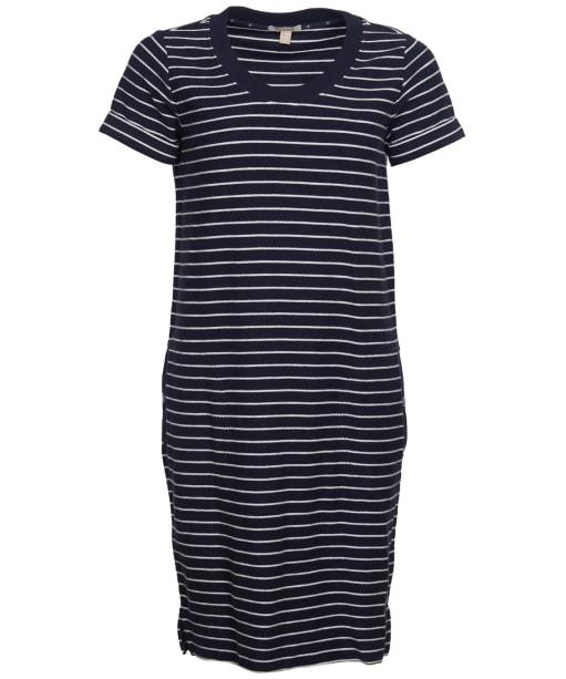 Women's Barbour Causeway Dress - Navy / White