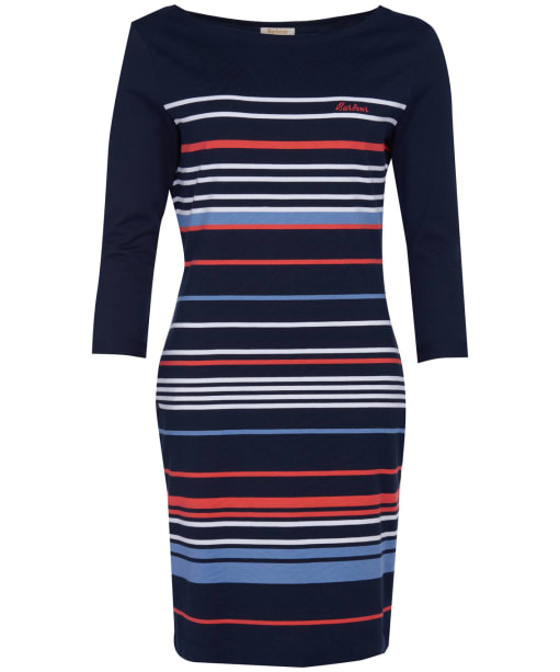 Women's Barbour Alongshore Stripe Dress - Navy