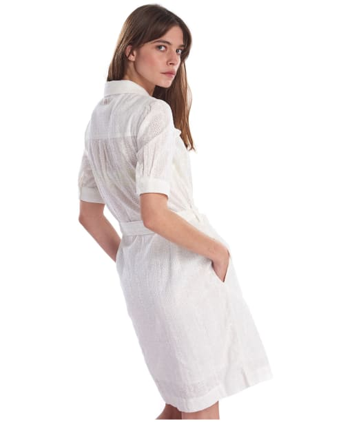 Women's Barbour Hallie Dress - Cloud
