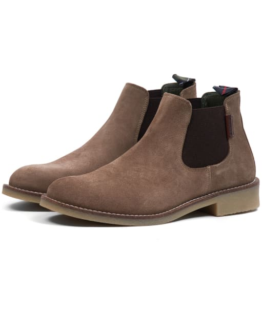 Women's Barbour Nicole Chelsea Boots - Taupe Suede