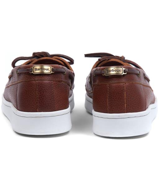 Women's Barbour Miranda Boat Shoes - Cognac Leather