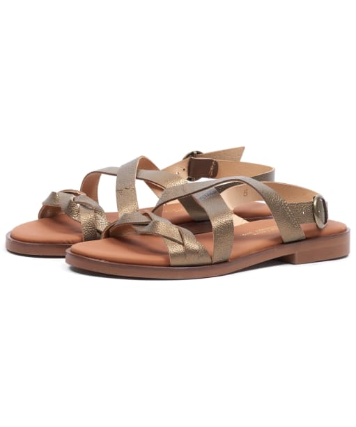 Women's Barbour Freya Sandals - Bronze