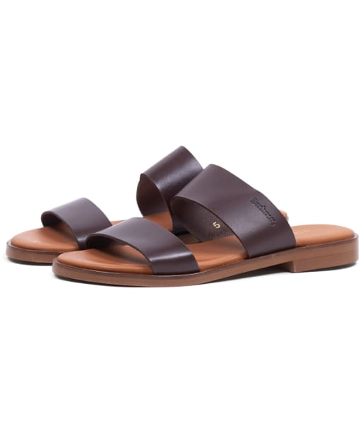 Women's Barbour Daisy Sandals - Chocolate