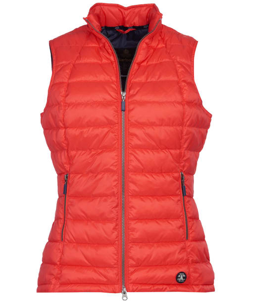 Women's Barbour Deerness Gilet - Coral