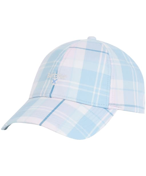 Women's Barbour Lindsday Tartan Sports Cap - Blossom Tartan