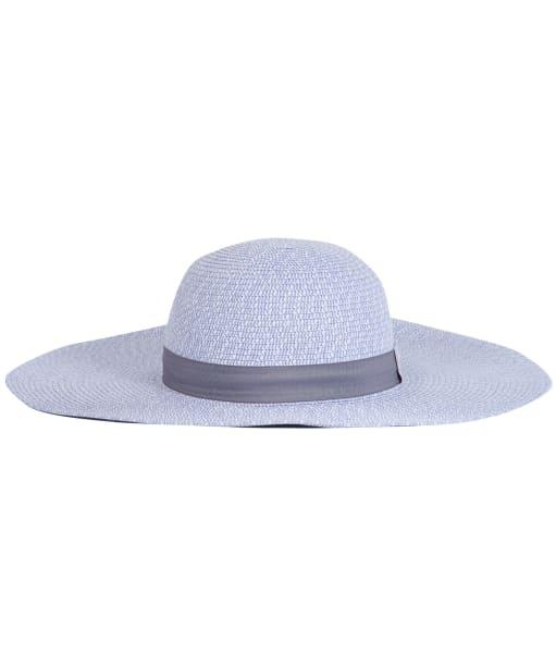 Women's Barbour Gretna Sun Hat - Platinum / White