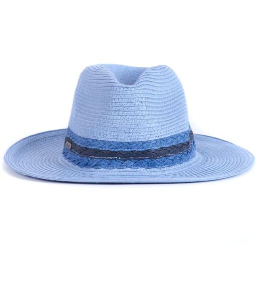 Women's Barbour Ashore Fedora Hat - Blue