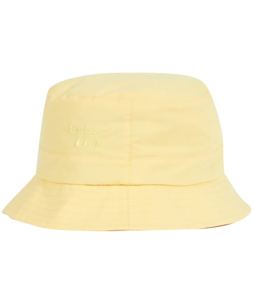 Women's Barbour Weather Comfort Bucket Hat - Dandelion Yellow