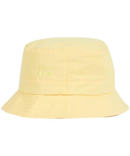 Women's Barbour Weather Comfort Bucket Hat - Dandelion Yellow